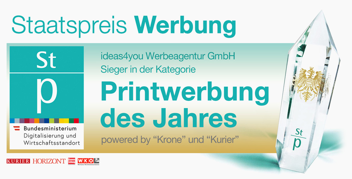 Werbeagentur Wien ideas4you Awards Zertifikate